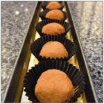 ترافل شکلات میلک ساده با پوشش پودر